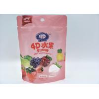 Buy cheap Beautiful Pattern Standing Pouch Packaging , Customized Size Stand Up Ziplock Bags from wholesalers