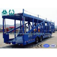 Buy cheap Long Distance Auto Hauling Trailers For Transporting Cars Enclosed Vehicle Transport product
