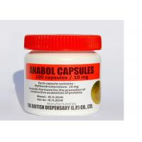 Buy cheap Anti - Counterfeit Custom Vial Labels Waterproof For Anabol Capsules from wholesalers