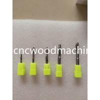 Buy cheap cnc wood milling bits / carbide / 3.175 mm - 6 mm / for cnc router bits from wholesalers