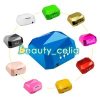 Buy cheap 36W LED CCFL Nail Dryer Diamond Shape Curing Machine for UV Gel Lamp Nail Polish from wholesalers