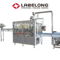 Buy cheap PET / Glass Bottle Liquid Bottling Machine For Juices Mineral Water Purified Water product