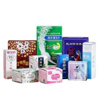 China 350 GSM White Cardboard Custom Packaging Boxes For Personal Care Supplement Products on sale