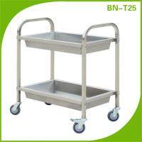 Buy cheap Stainless steel serving cart,moving plate trolley From China from wholesalers