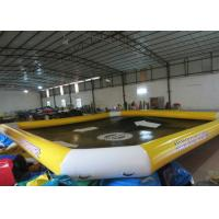Buy cheap Waterproof Large Inflatable Lounge Pool , Backyard Inflatable Pool 10 X 8m from wholesalers