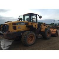 Buy cheap Komatsu WA320-5 Second Hand Front End Loaders Japan Original Color  2.000 Rpm from wholesalers