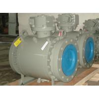 Buy cheap ANSI casting trunnion ball valve from wholesalers