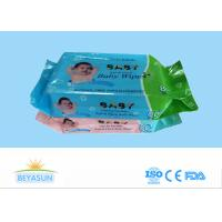 Buy cheap Custom Sanitary Disposable Wet Wipes Antibacterial Environmentally Friendly from wholesalers