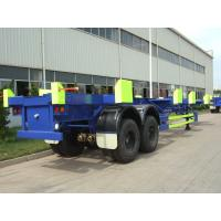 Buy cheap 2 Axles 45ft Terminal Trailer Conner - Less Single - Stack Trailer - CST from wholesalers