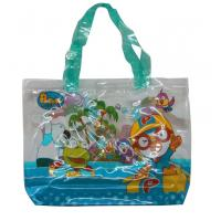 Buy cheap Colorful Printing Fabric Carrier Bags , 30c Transparent PP Shopping Bag from wholesalers