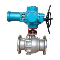 Buy cheap SS316 Floating Ball Valve Bare Shaft + Mounting Pad Drilling from wholesalers