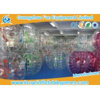 Buy cheap Large Bubble Football Bubble TPU / PVC Plastic Bumper Soccer For Rolling Ball from wholesalers