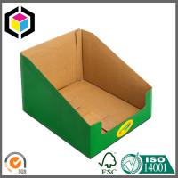Buy cheap Color Printing Corrugated Cardboard Display Box for Book; Bottom Locking Display from wholesalers
