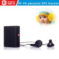 Buy cheap Hidden gps personal tracker for kids/child gps tracker rf-v6 gps tracker with sos button from wholesalers