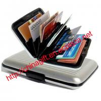 Buy cheap RFID Blocking Aluminum Hard Side Credit Card Safe Wallet from wholesalers