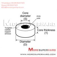 Buy cheap Tungsten Carbide Supported Diamond Die Blanks used to wire drawing Alisa@moresuperhard.com from wholesalers
