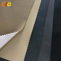 Buy cheap Car Seat / Sofa / Furnitures PVC Artificial Leather With Mesh Fabric Backing product