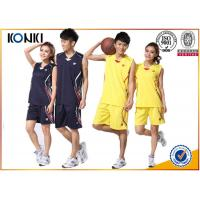 Buy cheap Custom Youth Basketball Uniforms 100% Polyester Dry Fit Basketball Sportswear Jersey from wholesalers