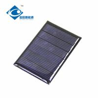 Buy cheap ZW-4060 cheapest transparent solar panel For mini solar powered toy diy car kit 3V from wholesalers