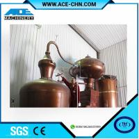 Buy cheap Copper Alcohol Distillation Equipment System For Sale & Copper Whiskey Still Equipment For Sale from wholesalers