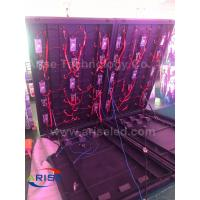 Buy cheap outdoor front-door service LED display p6 P10 Double face LED Freestanding Cabinet Sreen from wholesalers