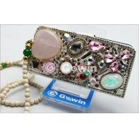 Buy cheap 3D Swarovski Diamond mobile phone case , Wearproof and Lightweight from wholesalers