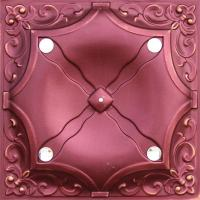 Buy cheap Red Decorative Interior Wall Paneling Metal Texture Panels Flexible from wholesalers