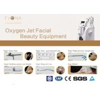 Buy cheap Shrink Pores Oxygen Skin Treatment Machine , 6 In 1 Microdermabrasion Machine 50HZ from wholesalers