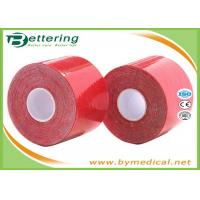 Buy cheap Colored Kinesiology Physio Therapy Athletic Muscle Tape For Knee / Shoulder / Leg / Ankle Pain from wholesalers