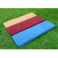 Buy cheap Nylon Camping Inflatable Sofa Bed Self-inflating Mattress 192*132cm from wholesalers