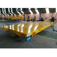Buy cheap 4 cast steel wheel 30t battery operated rail transfer vehicle manufacturer from wholesalers