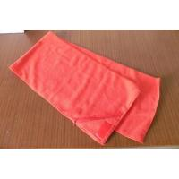 Buy cheap Small MOQ Custom Color and Logo gym towel with zip pocket from wholesalers