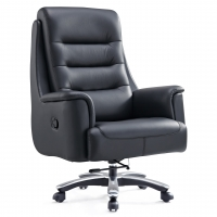 Buy cheap Executive Ergonomic Computer Desk Office Chair PU Leather Black from wholesalers
