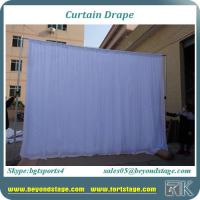 Buy cheap Romantic twinkle starlit drapery led bling star curtain for wedding party white color with good quality from wholesalers