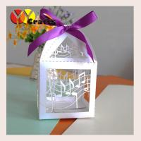 China Luxury good quality small paper wedding sugar box and candy packaging box on sale