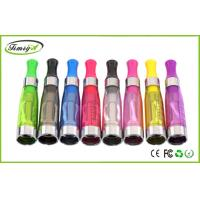 Buy cheap 1.6ml 2.4ohm E Cig Ce4 Clearomizer 510 Thread OEM 13g For Ego Thread Batteries from wholesalers