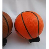 Buy cheap Blue Color Safety OEM PU Stress Balls Foam Basketball Shining from wholesalers