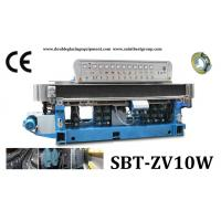 Buy cheap 10 Spindles Straight-Line Glass Edging Machine With Digital Display And PLC Control from wholesalers