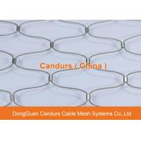 Buy cheap Architectural Flexible Stainless Steel Diamond Cable Mesh Netting from wholesalers