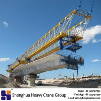 Buy cheap 160ton bridge beam launching gantry crane price for highway building from wholesalers
