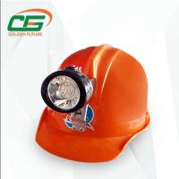 Buy cheap Mini Rechargeable LED Coal Miner Headlamp , 2.8Ah Underground Mining Lights from wholesalers