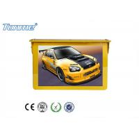Buy cheap 22'' Golden Yellow LCD Digital Signage Player 1080P Bus Hanging Indoor Display from wholesalers