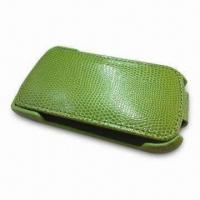 Buy cheap Leather Phone Case, Suitable for RIM's Blackberry 9800/9900, Customized Sizes Welcomed from wholesalers
