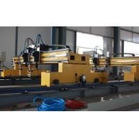 Buy cheap Double gantries CNC flame and plasma cutting machine with HYPERTHEM Power source from wholesalers