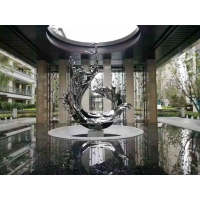 Buy cheap ODM Mirror Polished Stainless Steel Abstract Ornaments from wholesalers