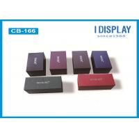 Buy cheap Foldable Colored Gift Boxes Multi Purpose , Cardboard Gift Boxes With Lids from wholesalers