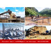 Buy cheap Granite Stone Crushing Equipment , Stone Production Line 125-1200 Mm Feeding Size from wholesalers