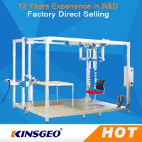 Buy cheap 500KG Sliding Resistant Furniture Testing Machine With Steel Plate For Rolling Office Chair from wholesalers