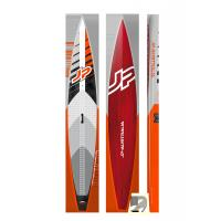 Buy cheap Red Narrow Inflatable SUP Stand Up Paddleboard Inflatable PVC Rainforced DWF Body from wholesalers