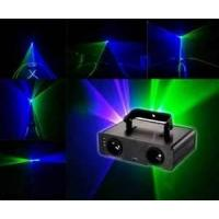 Buy cheap Red and Green mixed Yellow 4 Gobo Strobe Mini dj disco laser lighting / lights from wholesalers